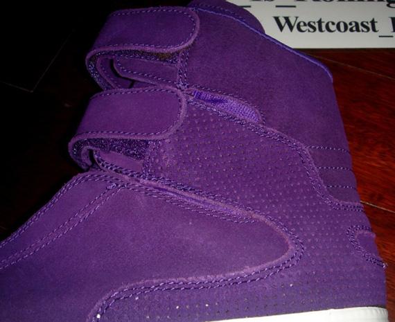 Supra TK Society Purple Suede   Detailed Look