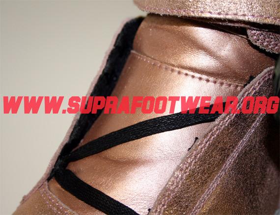 Supra TK Society Rose Gold Foil Sample
