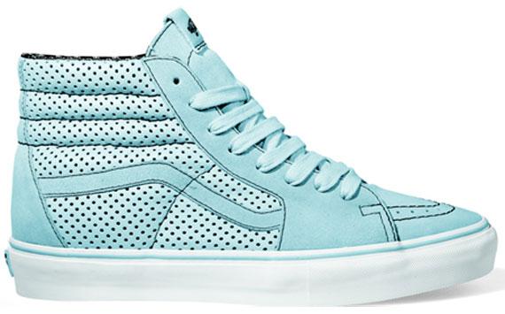 Vans Sk8 Hi Lx Baby Blue Black Sneakerfiles