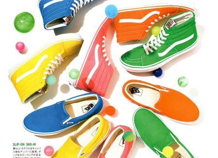 Vans Sk8-Hi & Slip-On Color Pack