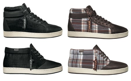 Vans Vault Spring 2009 Plaid Sk8-Hi Cup And Chukka Boot Cup