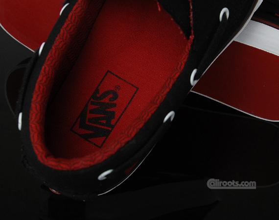 Vans Zapato Del Barco - Black / Chilli