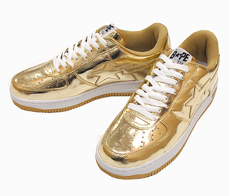 A Bathing Ape Bapesta - Metallic Pack | Spring/Summer 2009