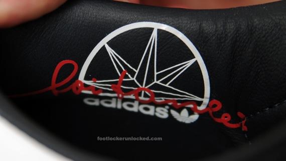 Adidas Canvas Superstar - Navy / Red / White