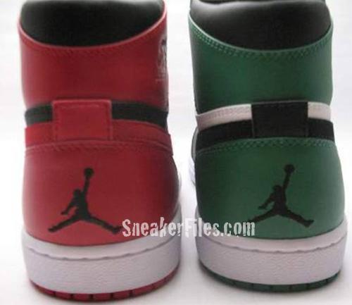 Air Jordan 1 60+ Pack - Chicago vs. Boston