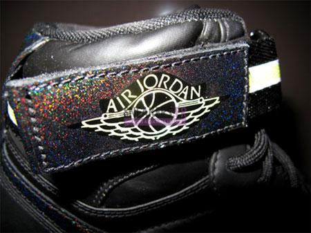 Air Jordan 1 (I) High Strap - Black Hologram