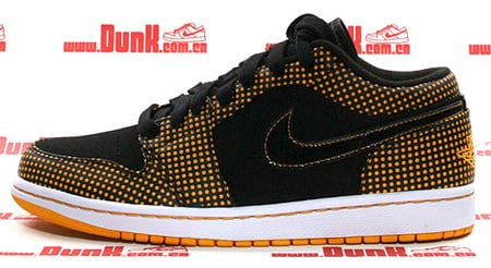 Air Jordan 1 (I) Phat Low - Black / Taxi - White
