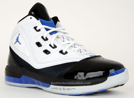 Air Jordan 16.5 - White / Black - Varsity Royal