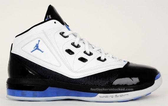 Air Jordan 16.5 - White / Black - Varsity Royal
