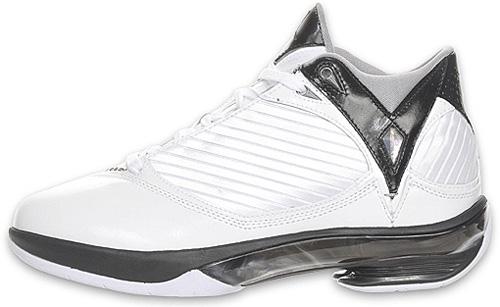 Air Jordan 2009 (2K9) White/ Metallic Silver - Black 343084-161