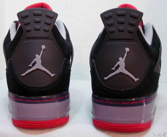 Air Jordan Force 4 (IV) - Black Cement | Detailed Look