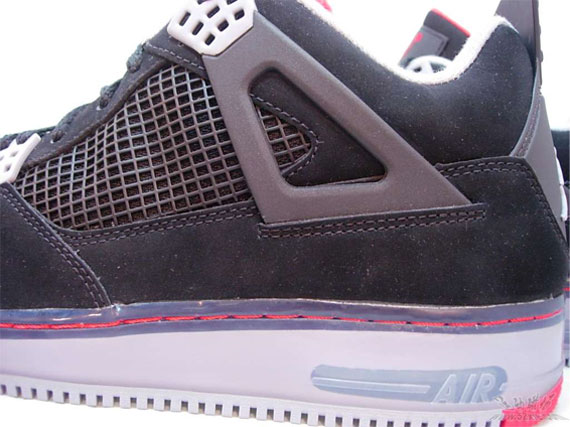 Air Jordan Force 4 (IV) - Black Cement | Detailed Look