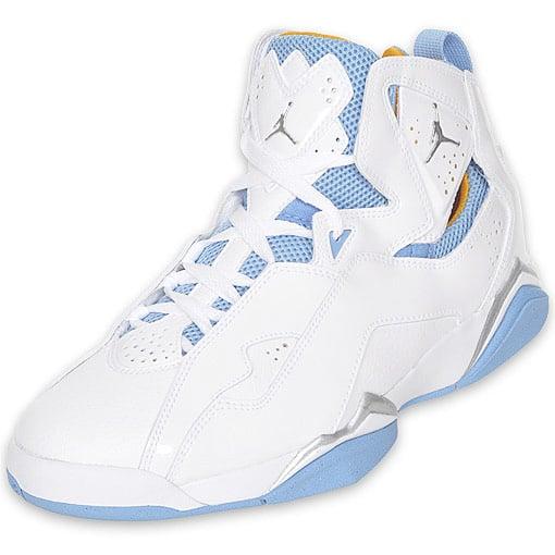 Air Jordan True Flight - White / Taxi / University Blue