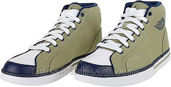 Air Jordan Phly Legend - Faded Taupe / Midnight Navy - White