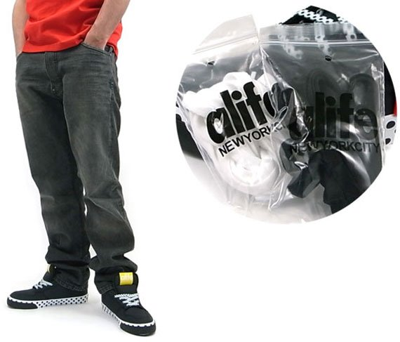 Alife Everybody Mid Parachute Nylon - Polka Dot