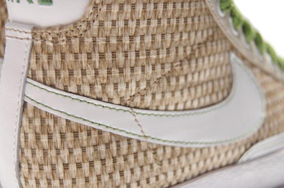 Bamboo Weave Nike Blazer Mid Womens