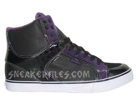 Draven Tank High - Black / Purple