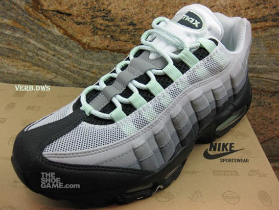 Green Mint Nike Air Max 95 - Fall 2009