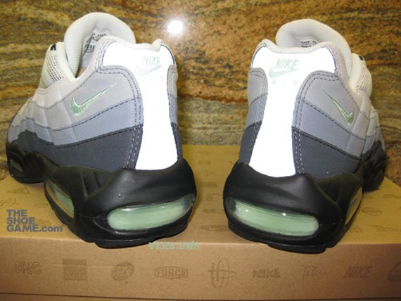 Green Mint Nike Air Max 95 - Fall 2009