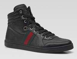 Gucci-High-Top-Leather-Sneakers-Black-Nero