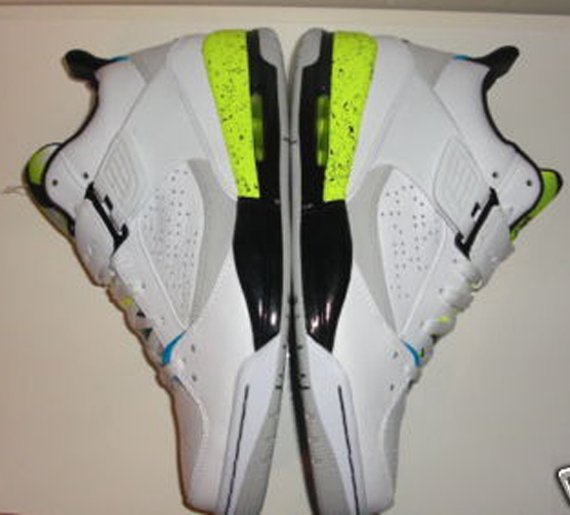 Jordan Flight 45 Sample - Command Force Inspired
