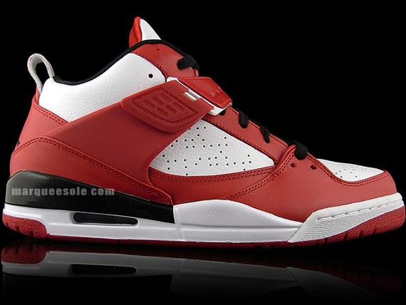 Jordan Flight 45 - Red / White