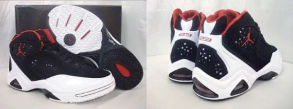 Jordan Rulez: White / Black - Silver, Black / White - Red