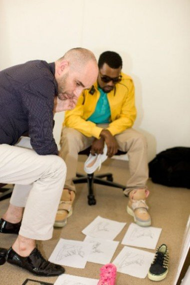 Kanye West For Louis Vuitton Footwear | The Making Of