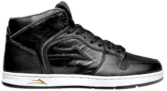Lakai Telford - Black Leather