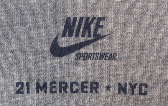 Nike sportswear 21 mercer st t shirts sneakerfiles for Mercer available loads