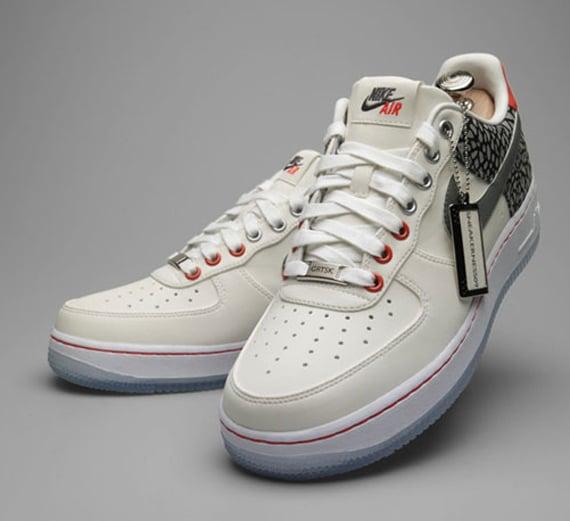 Plus 41 x Grotesk Bespoke Nike Air Force 1 - Sneakerness