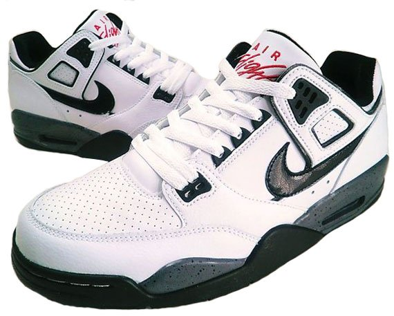 Nike Air Flight Condor - White / Black - Cement