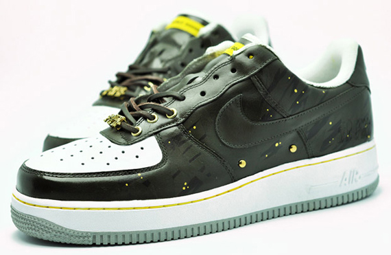 Double Goose x Art Force One x Nike Air Force 1 Camo Pack