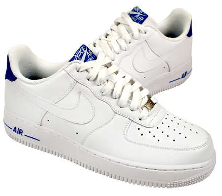Nike Air Force 1 Low - White / Varsity Royal
