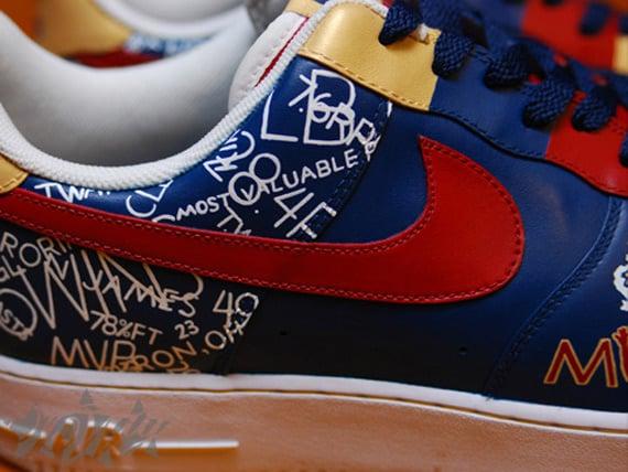 """Nike Air Force 1 Custom LeBron """"MVP"""""""