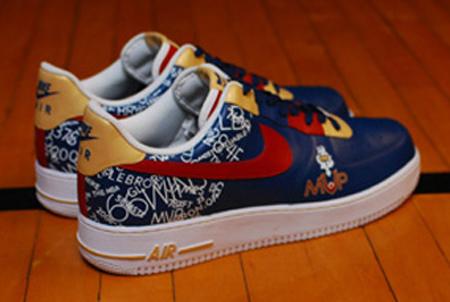 low priced f902a 66836 Nike Air Force 1 Custom LeBron