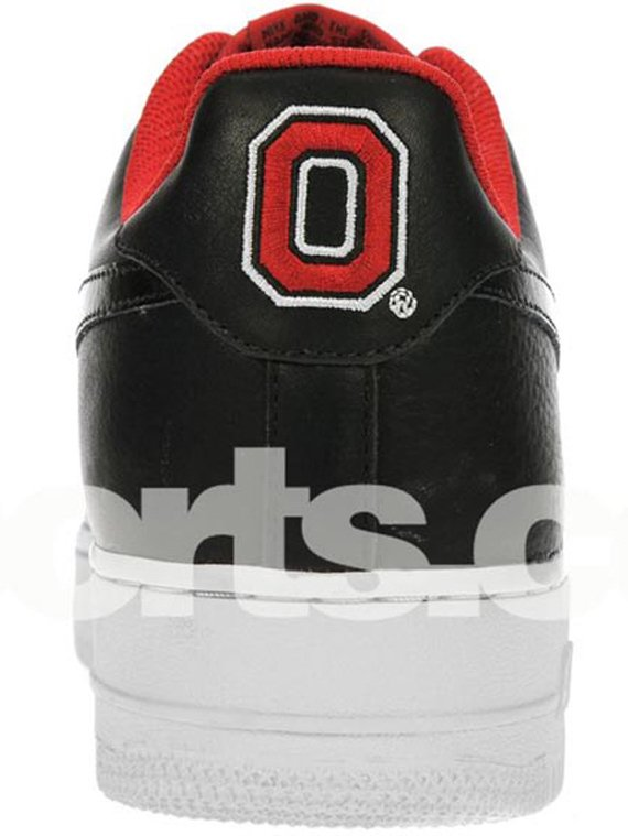 Nike Air Force 1 LeBron OSU Sample