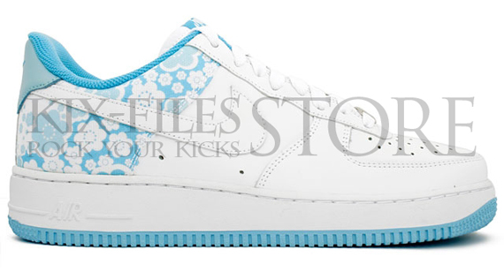 Nike Air Force 1 '07 Womens - Sakura Pro Cyan