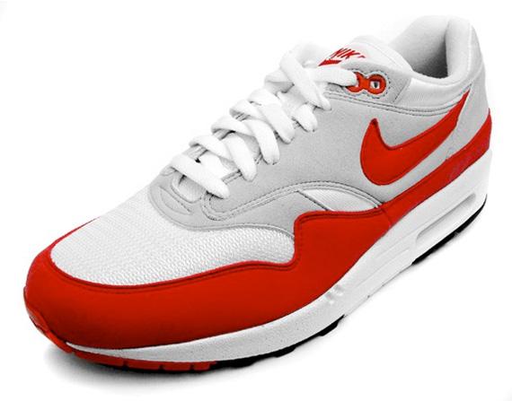Nike Air Max 1 White Red