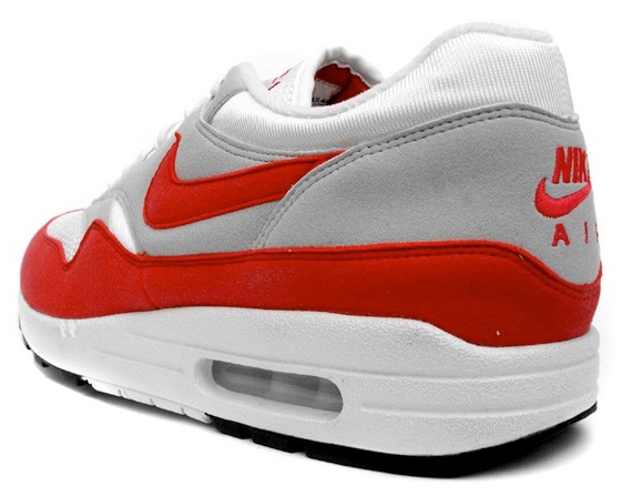 red nike max 1 air Blanc grey tYOqRYw