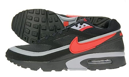 Nike Air Max Classic BW - Black / Sport Red / Grey