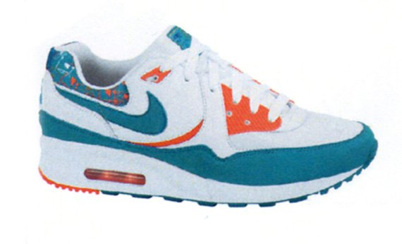 Nike Womens Air Max Light & Court Force - Miami Dolphins Pack
