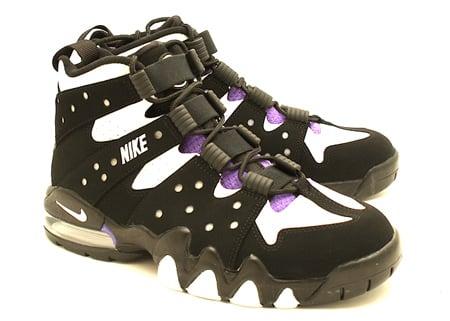 Nike Air Max2 CB 94 - Black / White - Pure Purple Detailed Look