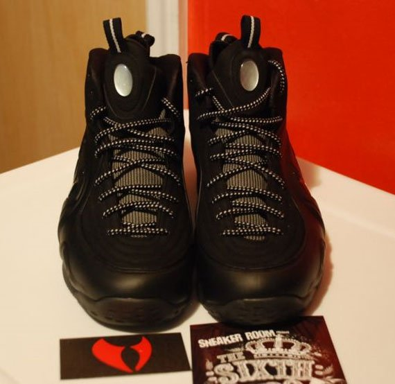 Nike Air Penny 1/2 Cent Black - Detailed Look