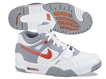 Nike Air Trainer III (3) - White / Grey / Orange