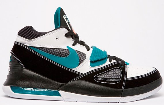 Nike Alpholution - White / Black - Teal