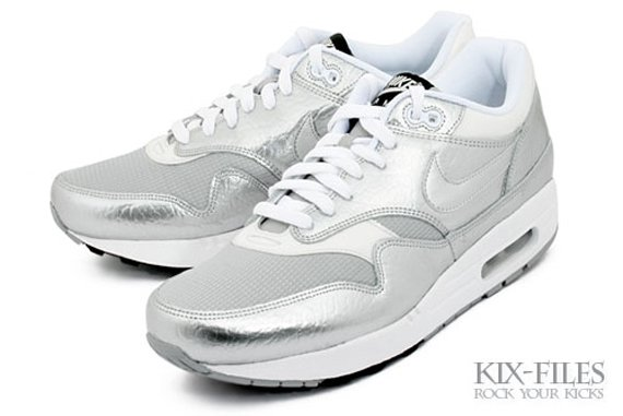 Nike Air Max 1 Apollo Lunar Silver