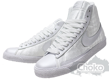 Nike Blazer - White / White - Checker