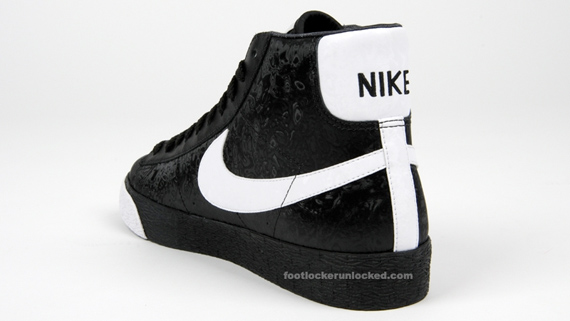 nike blazer black high