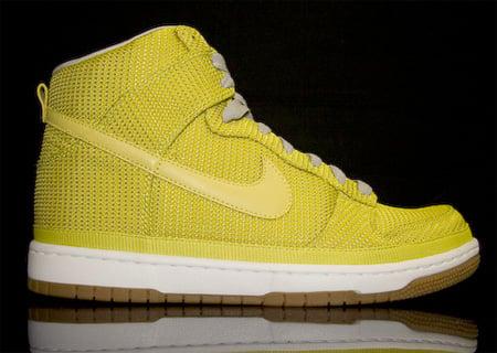 best sneakers bfe09 9eb81 Nike Dunk High Supreme Nylon - Electrolime | SneakerFiles